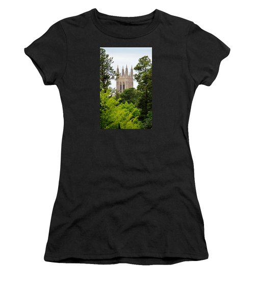 Duke Chapel Women's T-Shirt (Athletic Fit)