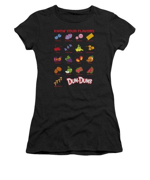 Dum Dums - Flavors Women's T-Shirt