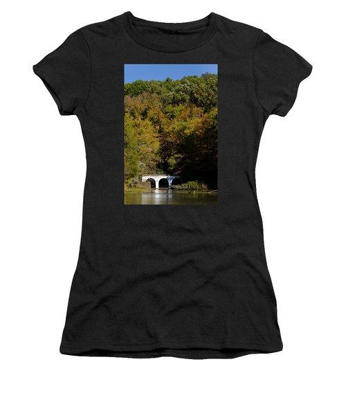 Dunbar Cave And Swan Lake Women's T-Shirt