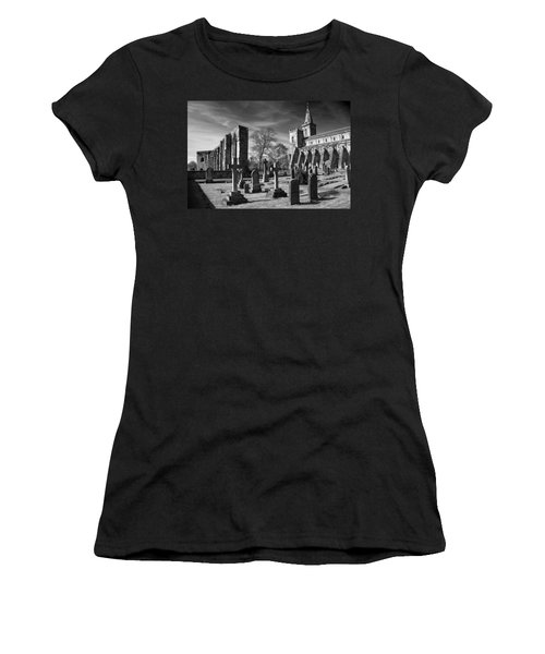 Dunfermline Palace And Abbey Women's T-Shirt (Athletic Fit)