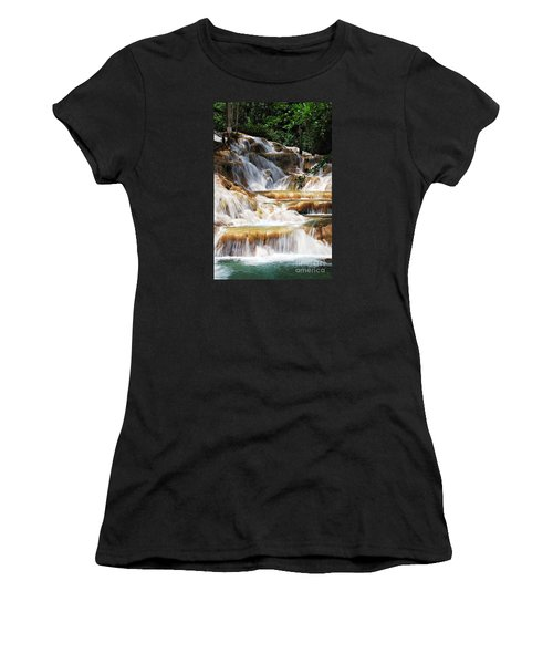 Dunn Falls Women's T-Shirt (Athletic Fit)