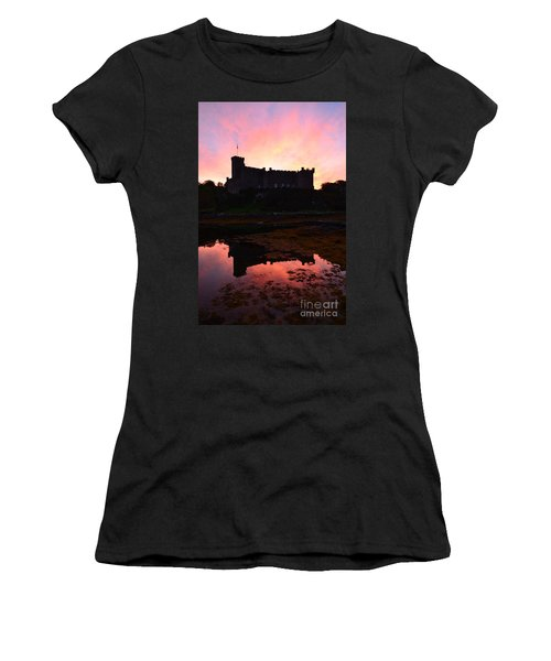 Dunvegan Castle At Dawn Women's T-Shirt (Athletic Fit)