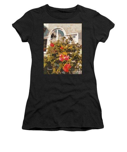 Alameda Roses Women's T-Shirt (Athletic Fit)