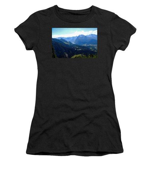 Eagle's Nest Vista Women's T-Shirt (Athletic Fit)