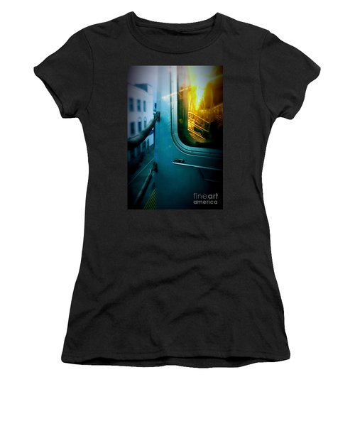 Early Morning Commute Women's T-Shirt (Athletic Fit)