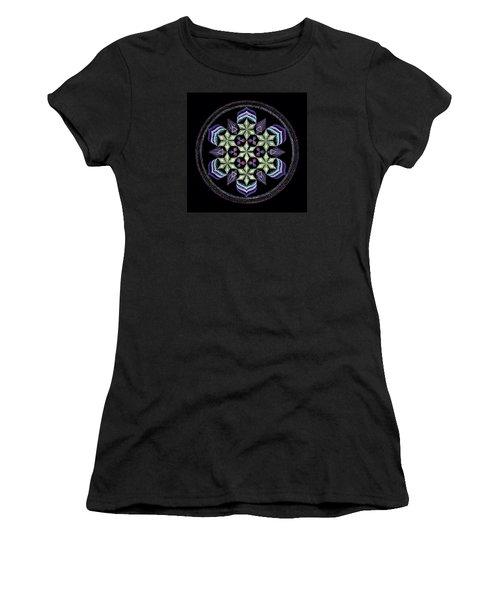 Earth's Forgiveness Women's T-Shirt (Junior Cut) by Keiko Katsuta