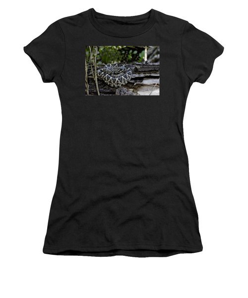 Eastern Diamondback-2 Women's T-Shirt (Athletic Fit)