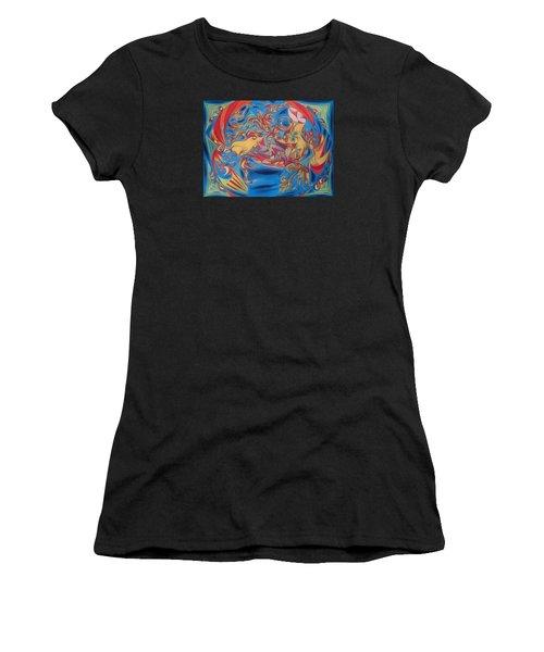 EAT Women's T-Shirt (Athletic Fit)