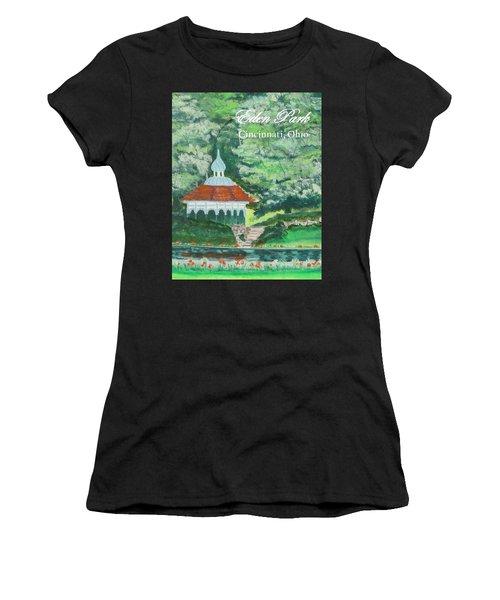 Eden Park Gazebo  Cincinnati Ohio Women's T-Shirt (Athletic Fit)