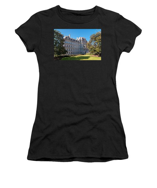 Eisenhower Executive Office Building In Washington Dc Women's T-Shirt
