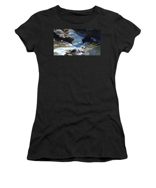 Elbow Falls Women's T-Shirt (Athletic Fit)
