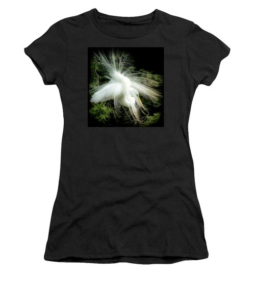 Elegance Of Creation Women's T-Shirt (Junior Cut) by Karen Wiles