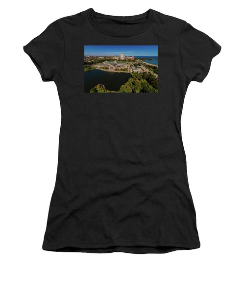 Elevated View Of The Museum Of Science Women's T-Shirt (Athletic Fit)