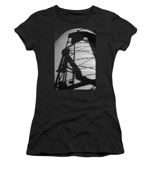 Elevator Shadow Women's T-Shirt (Athletic Fit)