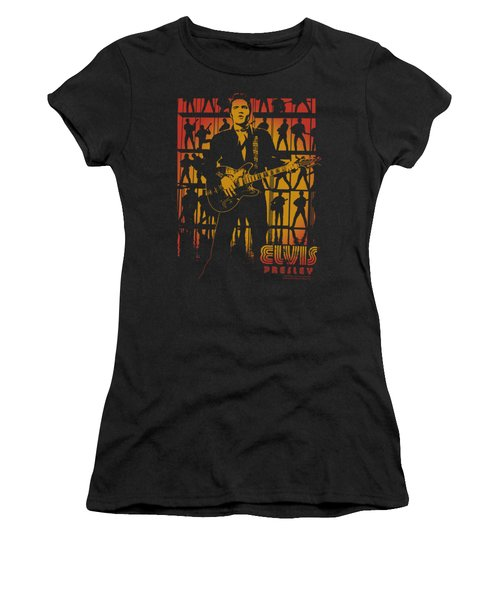Elvis - Comeback Spotlight Women's T-Shirt (Athletic Fit)