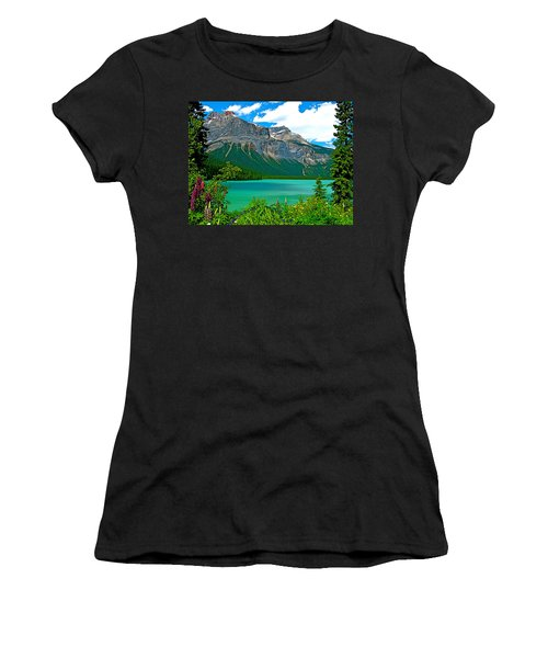 Emerald Lake In Yoho Np-bc Women's T-Shirt (Athletic Fit)