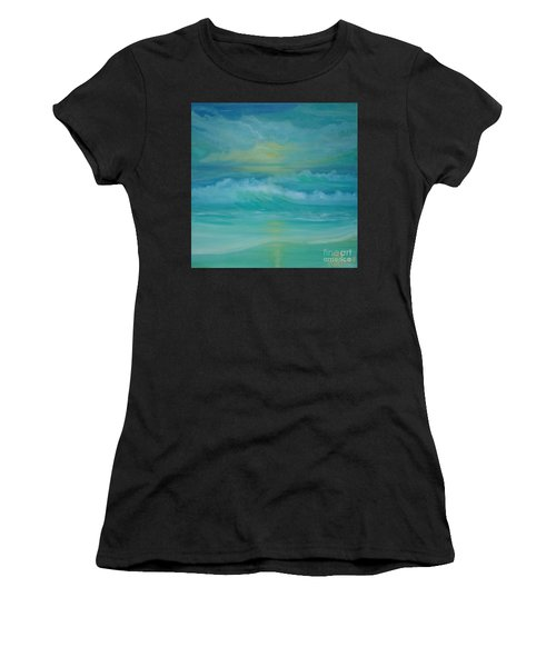 Emerald Waves Women's T-Shirt