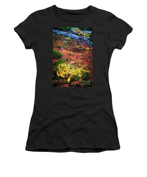 Enchanted Colors Women's T-Shirt (Athletic Fit)