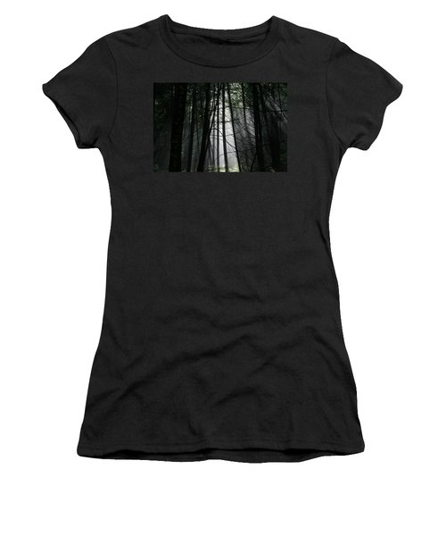 Encounter Of The Vermont Kind No.2 Women's T-Shirt (Junior Cut) by Neal Eslinger