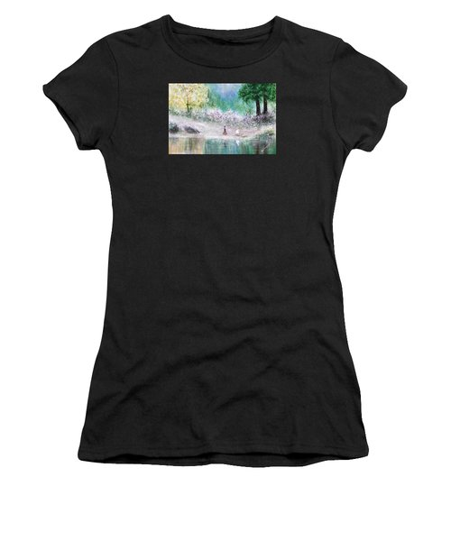 Endless Day Women's T-Shirt (Athletic Fit)
