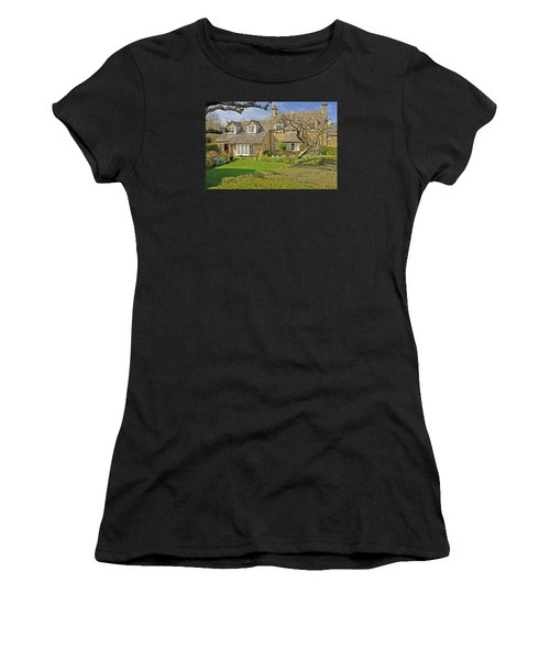 English Cottage Women's T-Shirt (Athletic Fit)