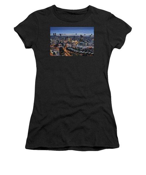 Evening City Lights Women's T-Shirt