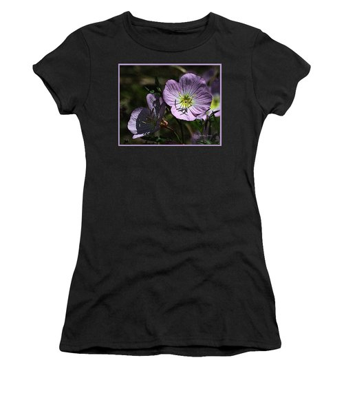 Evening Primrose Women's T-Shirt (Athletic Fit)