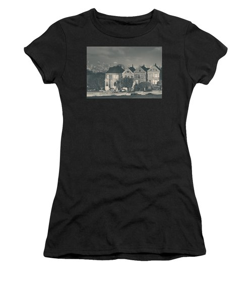 Women's T-Shirt featuring the photograph Evening Rendezvous by Laurie Search