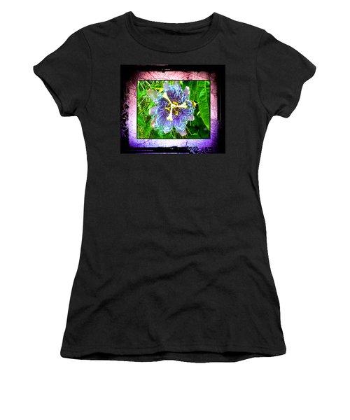 Exotic Strange Flower Women's T-Shirt (Junior Cut) by Absinthe Art By Michelle LeAnn Scott
