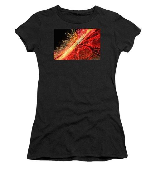 Exploding Neon Women's T-Shirt