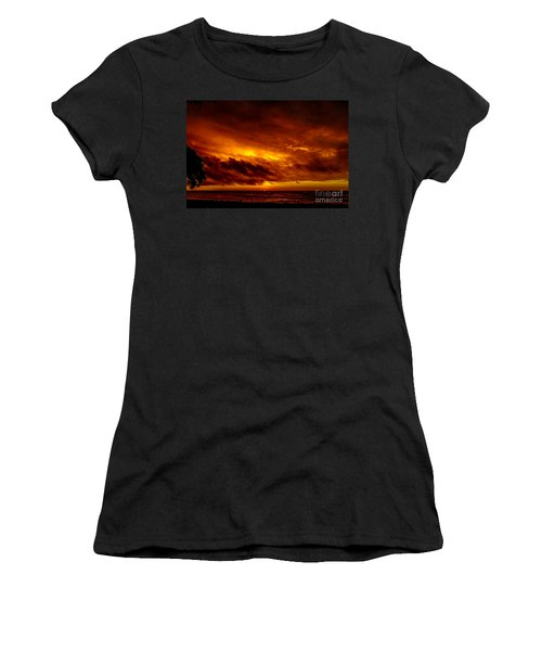 Explosive Morning Women's T-Shirt (Athletic Fit)