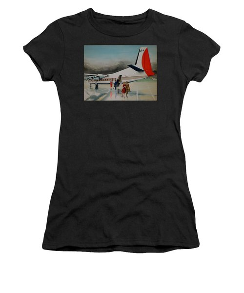 F-27 At Columbus Ohio Women's T-Shirt