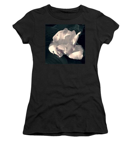 Women's T-Shirt (Junior Cut) featuring the photograph Faded Beauty by Photographic Arts And Design Studio