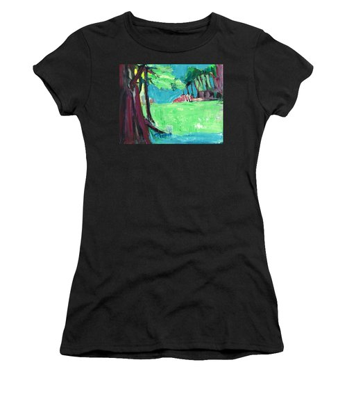 Fairway In Early Spring Women's T-Shirt