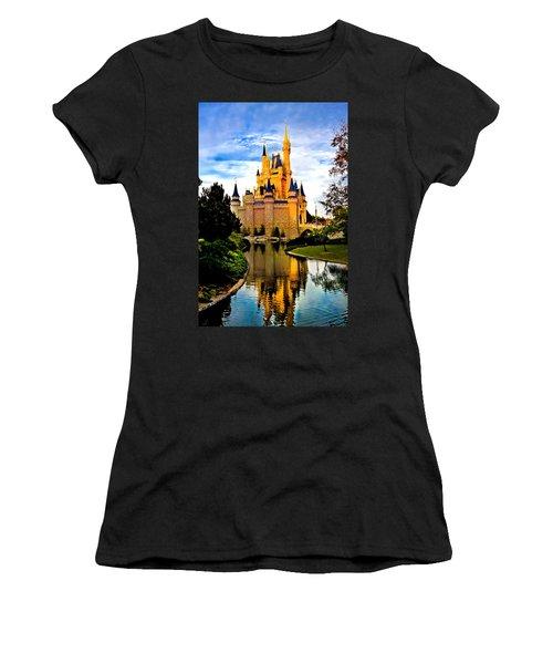 Fairy Tale Twilight Women's T-Shirt (Junior Cut) by Greg Fortier