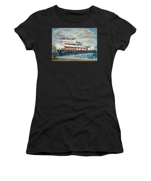 Fajardo Ferry From Vieques Puerto Rico Women's T-Shirt