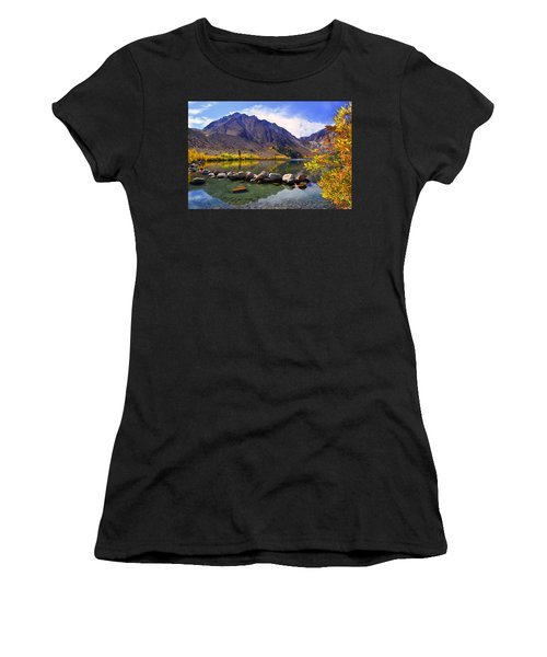 Fall Colors At Convict Lake  Women's T-Shirt