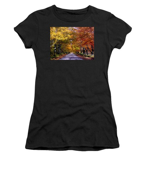 Fall Colors Near Sister Bay Women's T-Shirt