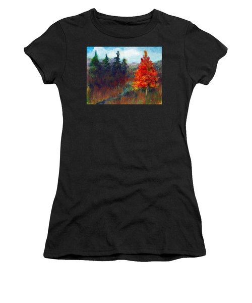 Fall Day Women's T-Shirt (Athletic Fit)