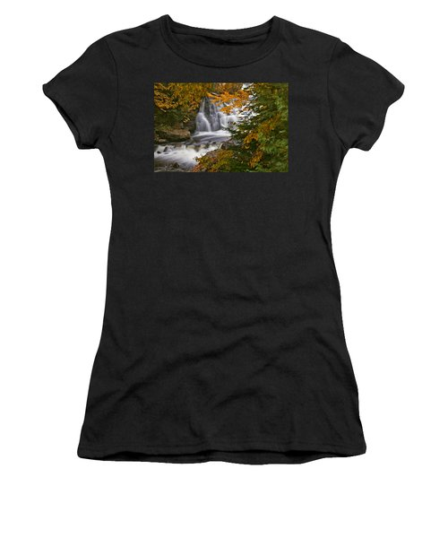 Fall In Fall - Chute Au Rats Women's T-Shirt (Athletic Fit)