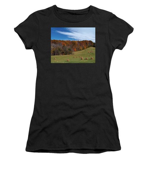 Fall On The Farm Women's T-Shirt (Athletic Fit)