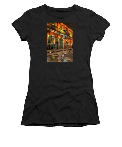 Fall-out From Pat O'briens Women's T-Shirt
