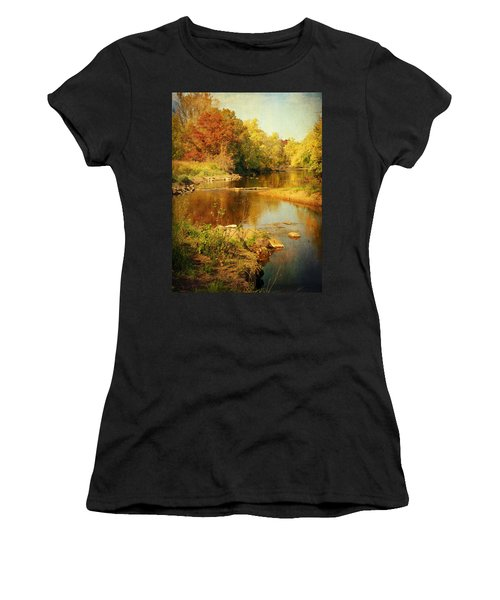 Fall Time At Rum River Women's T-Shirt
