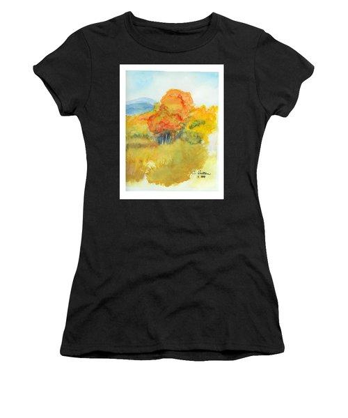 Fall Trees 2 Women's T-Shirt