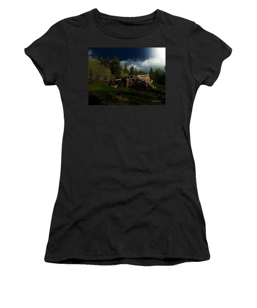 Fallen In Women's T-Shirt (Athletic Fit)