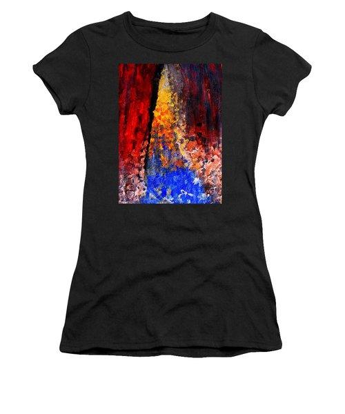 Falling Women's T-Shirt (Junior Cut) by Ian  MacDonald