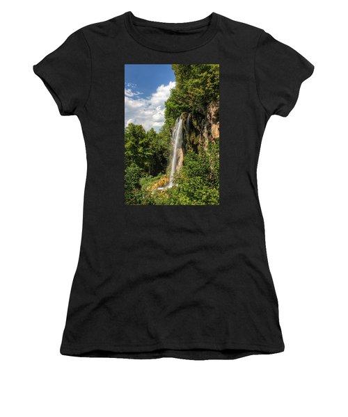 Falling Springs Falls Women's T-Shirt