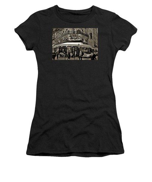 Famous Cafe De Flore - Paris Women's T-Shirt