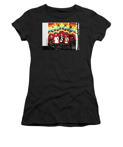 Famous St. Louisans Women's T-Shirt (Junior Cut) by Kelly Awad