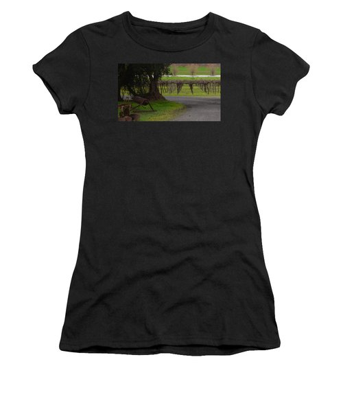 Farm And Vineyard Women's T-Shirt (Athletic Fit)